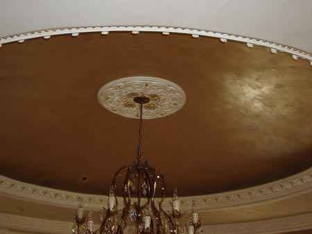 Another beautiful Venetian plaster on an Arizona ceiling