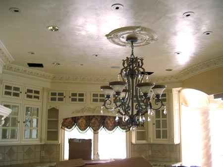 Another beautiful Venetian plaster in an Arizona home
